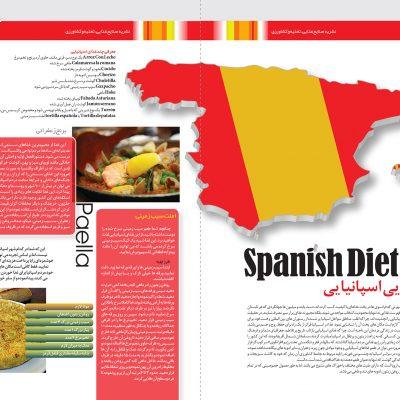 «بهار نارنج» نشریه صنایع غذایی ، تغذیه و کشاورزی