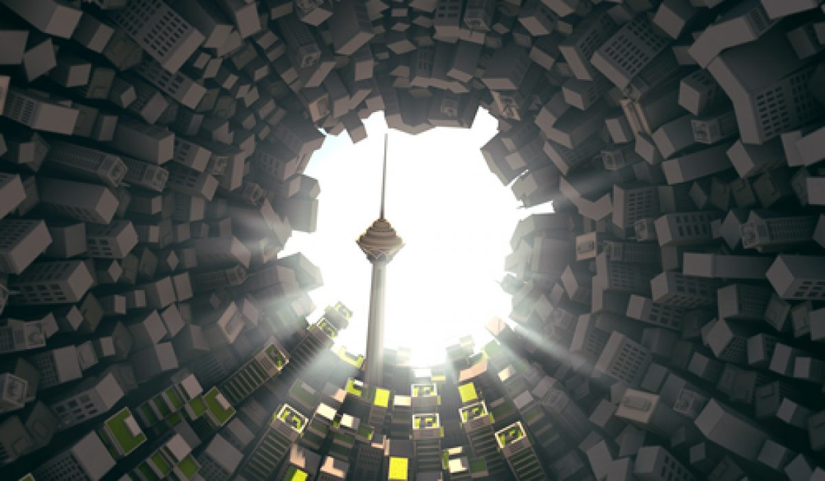 پوستر دومین همایش تهران هوشمند
